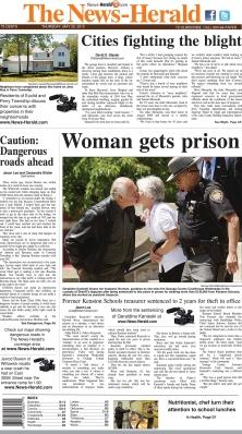 La prima pagina del News Herald
