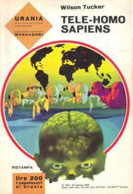 una copertina di Urania degli anni '60